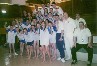 Halstead Swimming Club wins the league