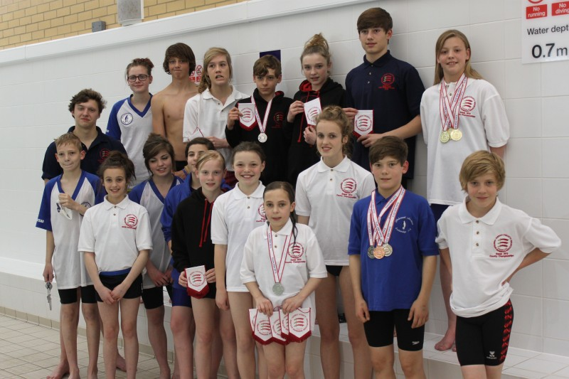 County Championships May 2012 Halstead Swimming Club