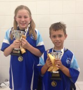 Swimmer of the month - Keira Harris and Joshua Roughan