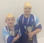 Swimmer of the month - Alesha Sycamore and Ethan Howard