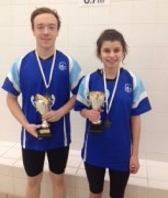 Swimmer of the month - Esme Scott and Thomas Lock