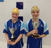 Swimmer of the month - Emily Kay and Theo Gediking