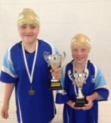 Swimmer of the month - Sophie Andrews and Daniel Andrews