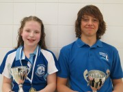 Swimmer of the month - Katherine Daynes & Kai Adams