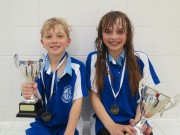 Swimmer of the month - Ethan Constable & Emma Lovegrove