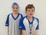 Swimmer of the month - Alex Blunkell & Isobell Bettley